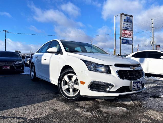 2016 Chevrolet Cruze No accidents|Limited|NAV|RCAM|HSeats|certified
