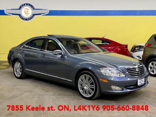 Used 2009 Mercedes-Benz S-Class S550, Navi, Pano Roof Only 126K for sale in Vaughan, ON
