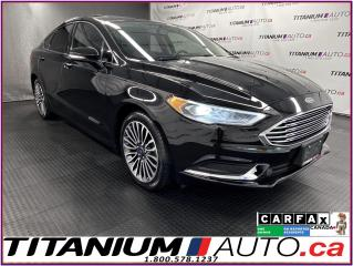 Used 2018 Ford Fusion SE+AWD+GPS+Sunroof+Leather+Remote Start+Apple Play for sale in London, ON