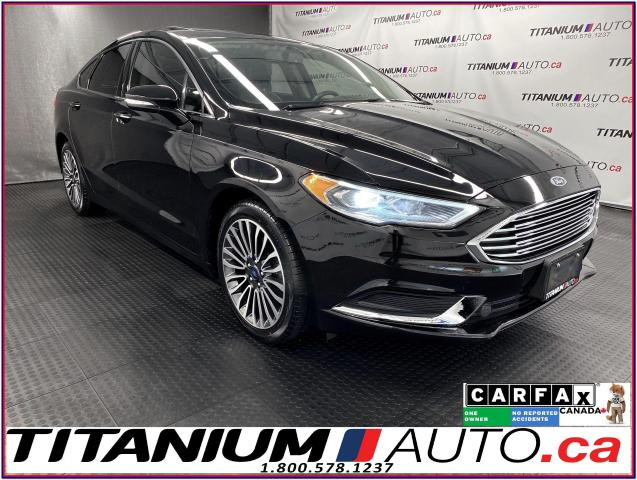 2018 Ford Fusion SE+AWD+GPS+Sunroof+Leather+Remote Start+Apple Play