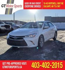 Used 2017 Toyota Camry LE | $0 DOWN - EVERYONE APPROVED! for sale in Calgary, AB