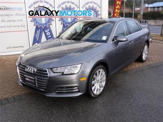 Used 2017 Audi A4 KOMFORT- Leather, Sunroof, AWD for sale in Duncan, BC