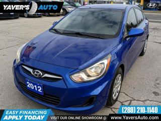 Used 2012 Hyundai Accent GLS for sale in Hamilton, ON