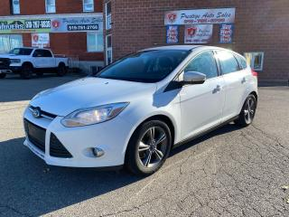 Used 2014 Ford Focus SE/2L/$$$ SAVE MONEY$$$-SAFETY IT YOURSELF for sale in Cambridge, ON