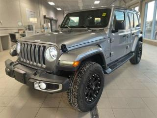 Used 2018 Jeep Wrangler Unlimited Sahara for sale in Ottawa, ON