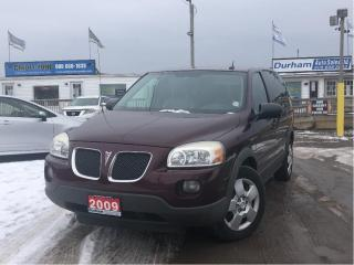 Used 2009 Pontiac Montana Sv6 w/1SA for sale in Whitby, ON