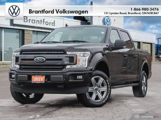 Used 2019 Ford F-150 4x4 - Supercrew XLT - 145 WB for sale in Brantford, ON