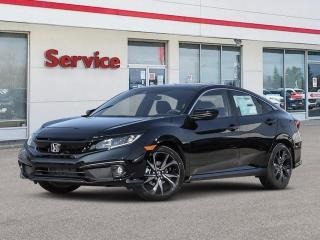 New 2021 Honda Civic Sedan Sport CVT for sale in Brandon, MB
