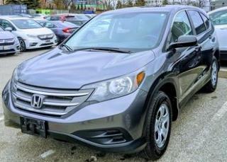 Used 2012 Honda CR-V LX|Warranty|Htd Seats|AWD|Low KM|39MPG for sale in Brandon, MB