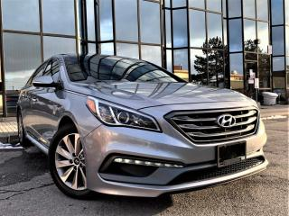 Used 2016 Hyundai Sonata PUSH START| REAR VIEW|HEATED SEATS|PANORAMIC|APPLE CARPLAY! for sale in Brampton, ON