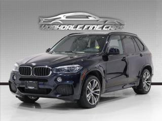 Used 2017 BMW X5 xDrive35i. M Sport, Intelligent Safety, 360 Camera, Loaded for sale in Concord, ON
