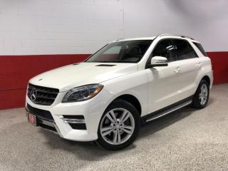 Used 2013 Mercedes-Benz ML-Class ML350 BlueTEC 4MATIC LED's REAR CAMERA BLUETOOTH for sale in North York, ON