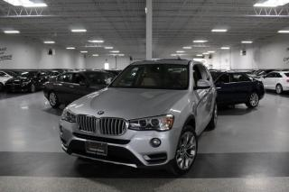 Used 2017 BMW X3 XDRIVE28i I NAVIGATION I PANOROOF I REAR CAM I HEATED SEATS for sale in Mississauga, ON