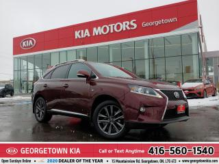 Used 2015 Lexus RX 350 F SPORT | AWD | LTHR | NAVI | ROOF | 123,583 KM | for sale in Georgetown, ON