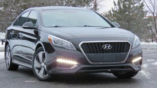 Used 2016 Hyundai Sonata Hybrid LIMITED, Navigation, Blind spot for sale in North York, ON