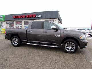 Used 2015 RAM 1500 Limited Crew Cab 4WD Diesel Navi Camera Certified for sale in Milton, ON