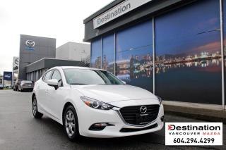 Used 2018 Mazda MAZDA3 GX-Comes with a secure 160pt. detailed inspection! for sale in Vancouver, BC