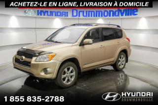 Used 2009 Toyota RAV4 LIMITED 4WD + GARANTIE + TOIT + CUIR + W for sale in Drummondville, QC