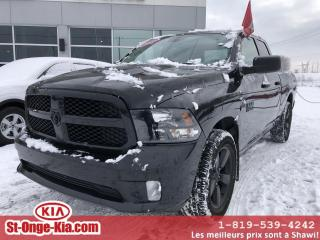 Used 2017 RAM 1500 Express Quad Cab 4RM 140,5 po *Disponibi for sale in Shawinigan, QC