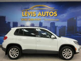 Used 2017 Volkswagen Tiguan WOLFSBURG ÉDITION 4 MOTION CUIR TOIT PAN for sale in Lévis, QC