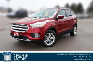 Used 2018 Ford Escape SE for sale in Tillsonburg, ON