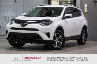 Used 2018 Toyota RAV4 *** RÉSERVÉ / ON HOLD *** BAS KILOMÉTRAGE - CLIMATISATION - CAMÉRA DE RECUL - SIÈGES AVANT CHAUFFANT - MAGS 17'' - TSS for sale in Lachine, QC