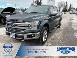 Used 2018 Ford F-150 TRAILER TOW PACKAGE - LEATHER INTERIOR - 2nd Row Heated Seats for sale in Calgary, AB
