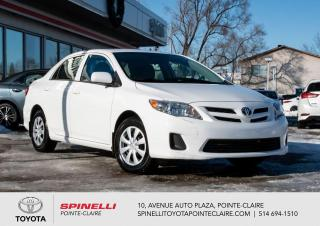 Used 2012 Toyota Corolla CE SIÈGES CHAUFFANT for sale in Pointe-Claire, QC
