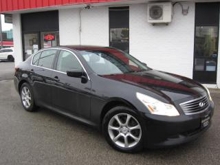 Used 2009 Infiniti G37 X LUXURY AWD $8,995+HST+LIC FEE / CLEAN CARFAX / CERTIFIED / ALL WHEEL DRIVE for sale in North York, ON