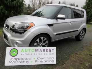 Used 2012 Kia Soul 4U, AUTO, S/ROOF, NAVI, B/TOOTH, INSPECTED, FINANCE, WARR & BCAA MEMBERSHIP for sale in Surrey, BC