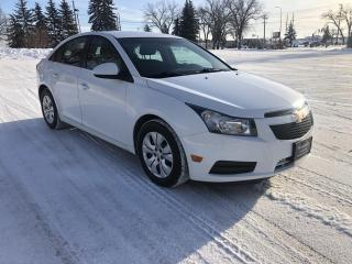 Used 2012 Chevrolet Cruze LT Turbo New Brakes! 1.4L Turbo for sale in Winnipeg, MB