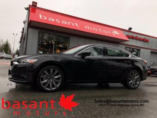 Used 2020 Mazda MAZDA6 GS-L, Leather, Sunroof, Heated Seats, Low KMs!! for sale in Surrey, BC