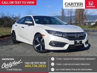 Used 2017 Honda Civic Touring NAVIGATION + LEATHER SEATS + HONDA SENSING for sale in Vancouver, BC