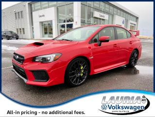 Used 2018 Subaru WRX STI Sport Manual - 1 owner for sale in PORT HOPE, ON