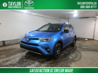 Used 2018 Toyota RAV4 Hybrid SE HYBRID! WINTER TIRES INSTALLED! for sale in Regina, SK
