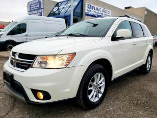 Used 2015 Dodge Journey SXT CAMERA|DVD|7 PASSENGER|SUNROOF|ALLOYS for sale in Concord, ON