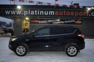 Used 2017 Ford Escape NO ACCIDENTS!! LEATHER!! HEATED SEATS!! BACKUP CAMERA!! BLUETOOTH!! for sale in Saskatoon, SK