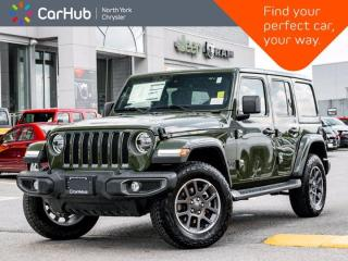New 2021 Jeep Wrangler Unlimited Sahara 80th Anniversary 4x4 Heated Leather Seats Dual Top for sale in Thornhill, ON