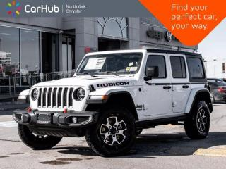 New 2021 Jeep Wrangler Rubicon Unlimited 4x4 Heated Seats & Wheel Alpine Navigation for sale in Thornhill, ON