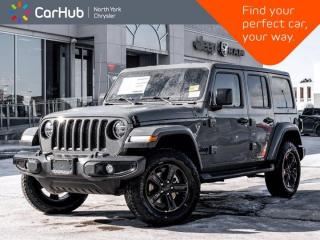 New 2021 Jeep Wrangler Altitude|LED Lighting|Advaced Safety|Navi |Cold Weather for sale in Thornhill, ON