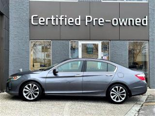 Used 2014 Honda Accord Sedan SPORT w/ AUTOMATIC for sale in Calgary, AB