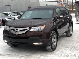Used 2009 Acura MDX Elite Package AWD, LEATHER, HEATED SEATS, SUNROOF & MUCH MORE for sale in Saskatoon, SK