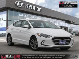 Used 2018 Hyundai Elantra GL SE  - Heated Seats - $104 B/W for sale in Nepean, ON