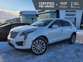 Used 2018 Cadillac XT5 Platinum AWD | Suede Headliner | Cooled Seats for sale in Winnipeg, MB