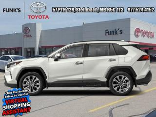 New 2021 Toyota RAV4 Limited  - Leather Seats -  Sunroof for sale in Steinbach, MB