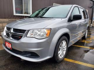 Used 2016 Dodge Grand Caravan SXT-DVD-NAVIGATION-REAR CAMERA-LOW KM for sale in Tilbury, ON