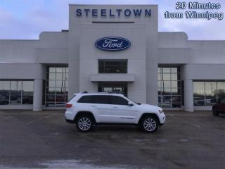 Used 2017 Jeep Grand Cherokee Limited  - Leather Seats for sale in Selkirk, MB