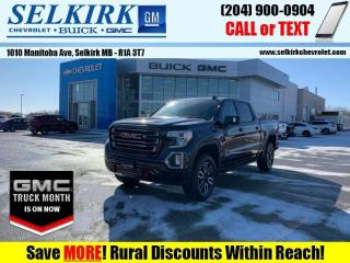 New 2021 GMC Sierra 1500 AT4  - Navigation - Sunroof for sale in Selkirk, MB
