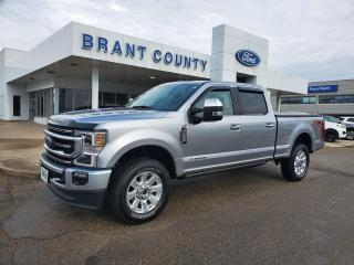 Used 2021 Ford F-250 Platinum for sale in Brantford, ON