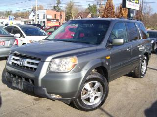 Used 2008 Honda Pilot SE-L,8 PASSENGERS,AWD,LEATHER,CERTIFIED,DVD,ALLOYS for sale in Kitchener, ON